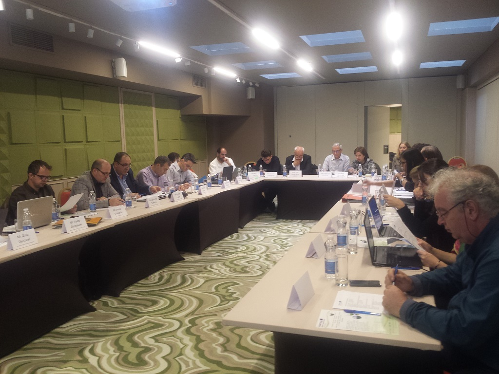 The 1st stakeholders meeting in Sofia