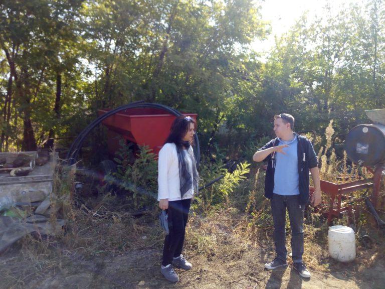 Посета на пилот фармата на Федерацијата на производители на органски производи на Македонија (ФПОПМ)